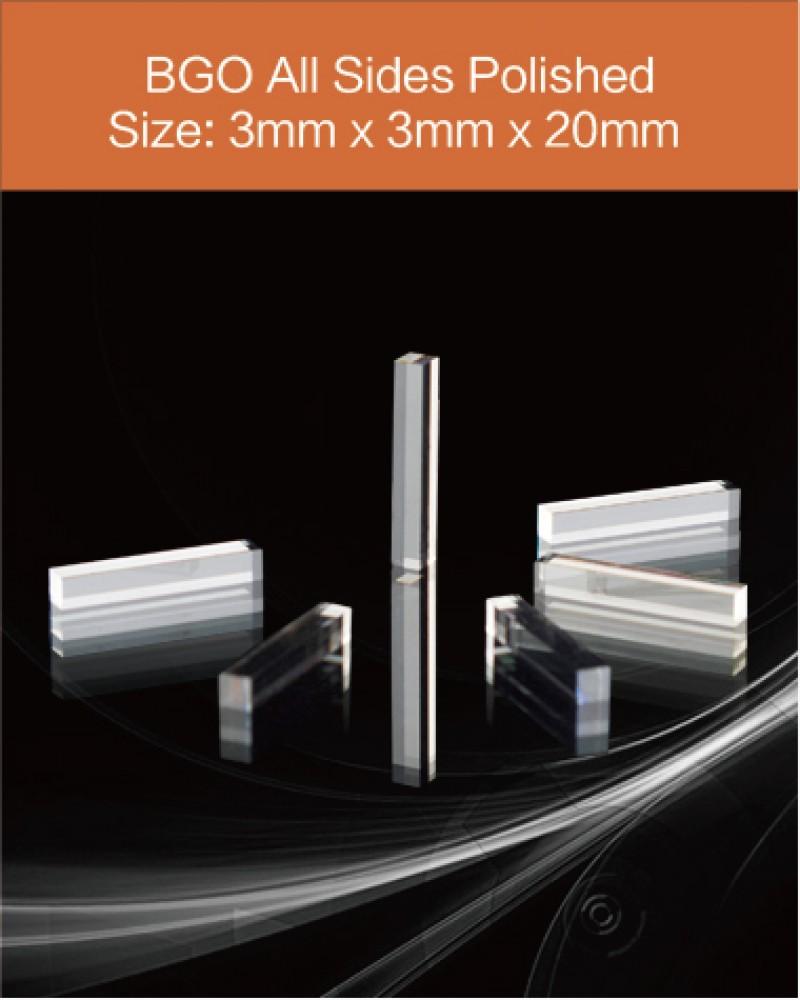 BGO scintillator 3x3x20mm